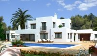 Villa under construction in Moraira 2018