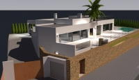New build in calle Mar de Cerdeña  Moraira 2016